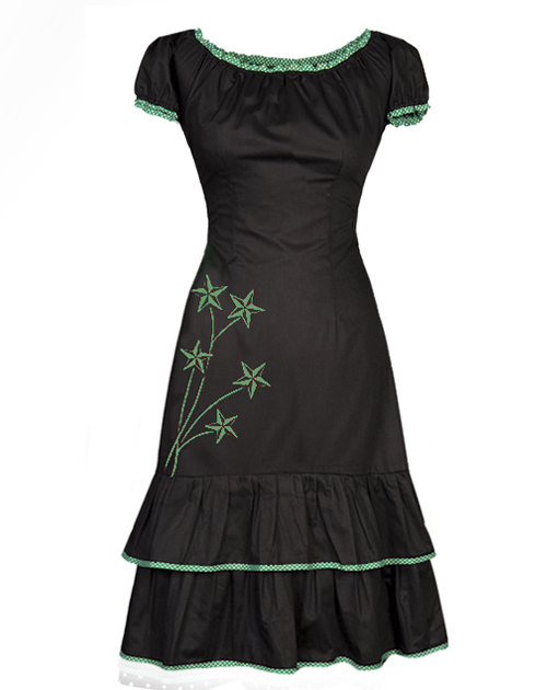 Dress Blackgreen Dress Ecouture Carmen Blackgreen Blackgreen Carmen Ecouture Carmen PHxUwCP