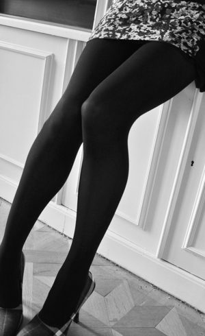 acbae9b2bd5 Sustainable stockings- Black (Den 100)
